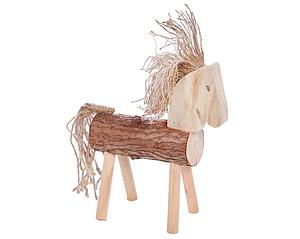 CABALLO DECORATIVO TRONCO 36CM