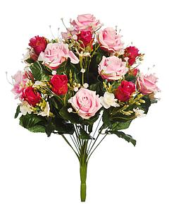 BOUQUET DE ROSAS ARTIFICIAL 37CM
